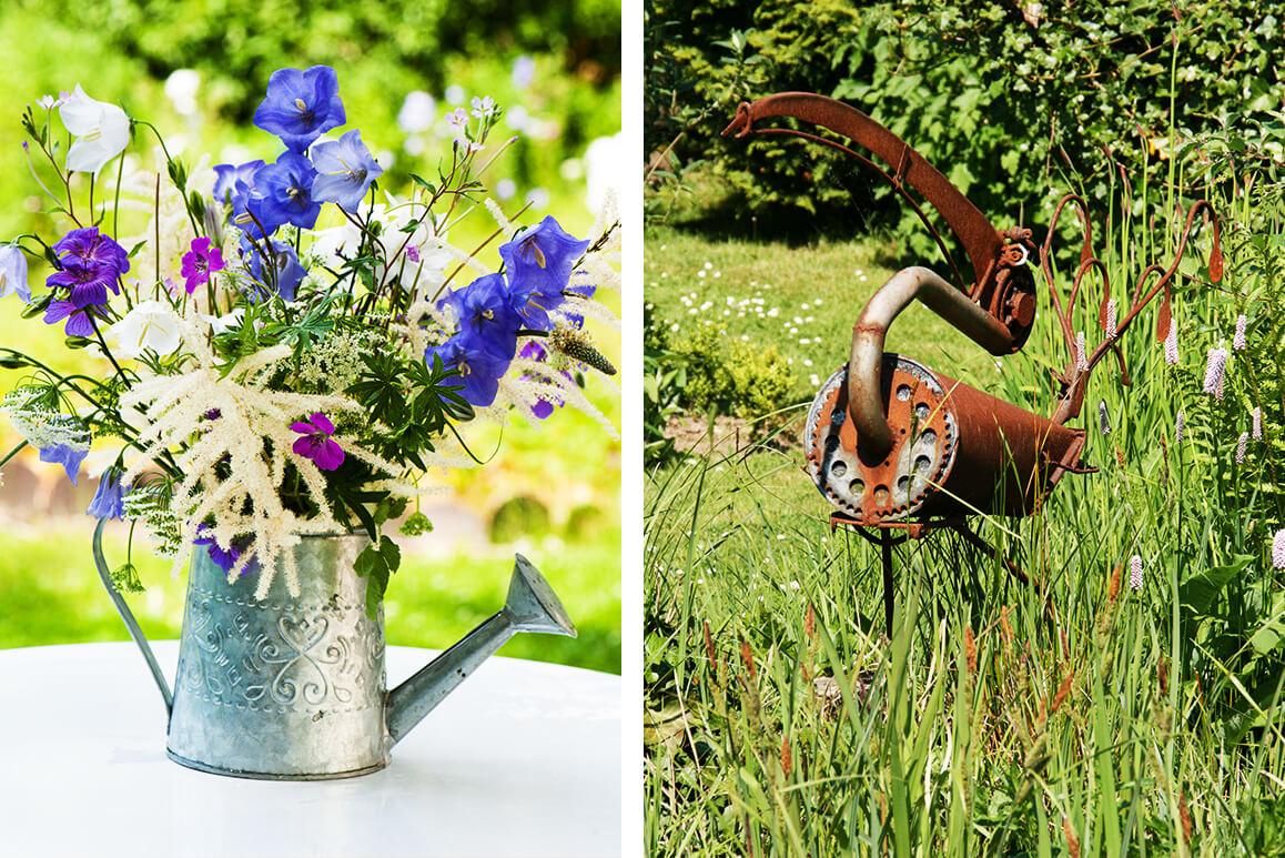 Gartendeko selber machen