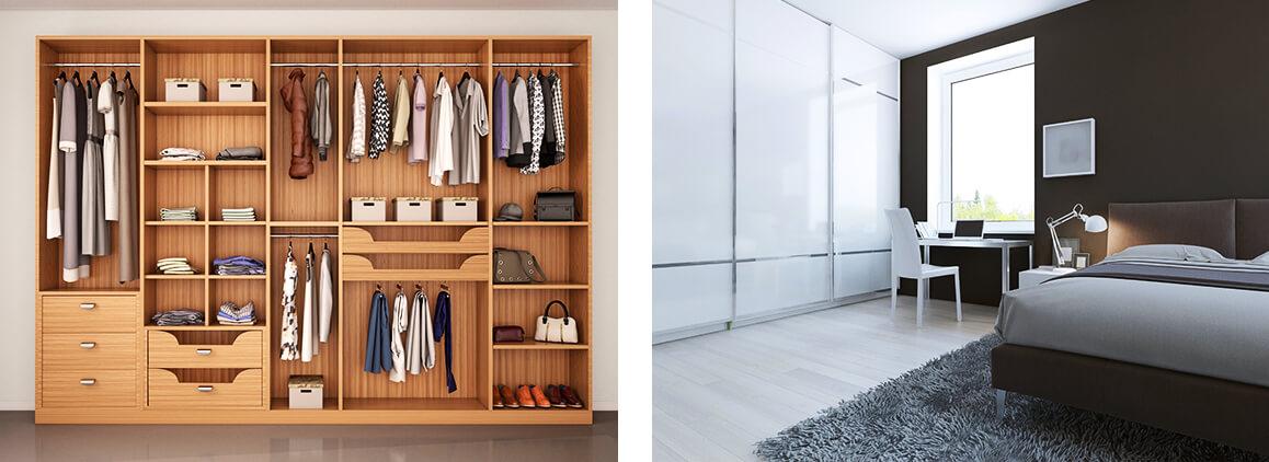 Ideen für einen begehbaren Kleiderschrank  moebel.de