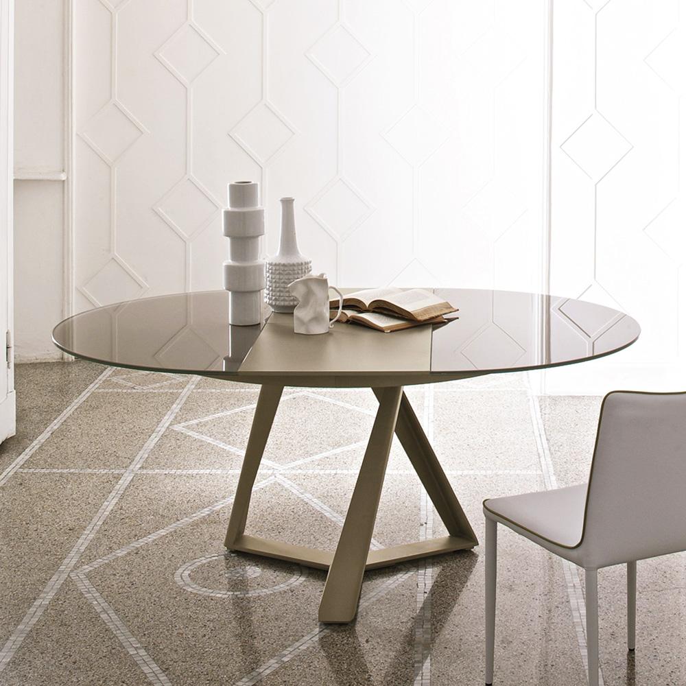 Fabelhaft Runde Esstische Ausziehbar Sammlung Von Wohndesign Dekoration