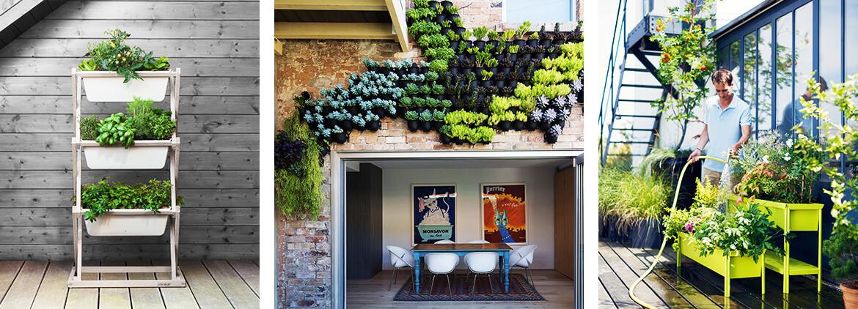Bekannt Einen vertikalen Garten für den Balkon selber machen CH76