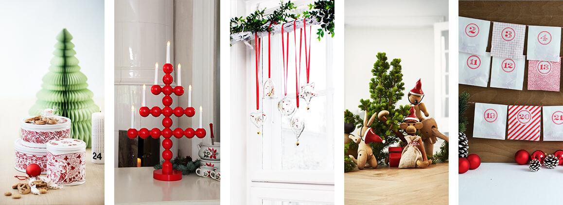 Nordische Weihnachtsdeko.Skandinavische Weihnachtsdeko