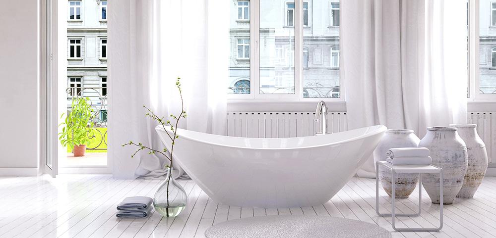 Freistehende Badewannen: Das muss man wissen