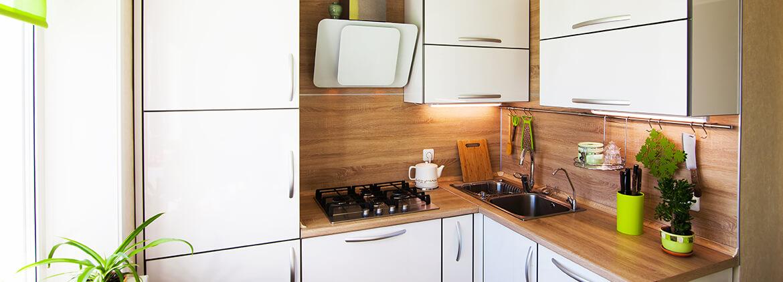Kleine Küchen einrichten